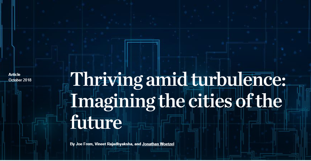 Thriving amid turbulence: Imagining the cities of the futurecover image.