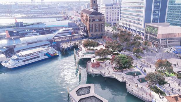 Why are Auckland's waterfront priorities the exact inverse of Wellington?cover image.