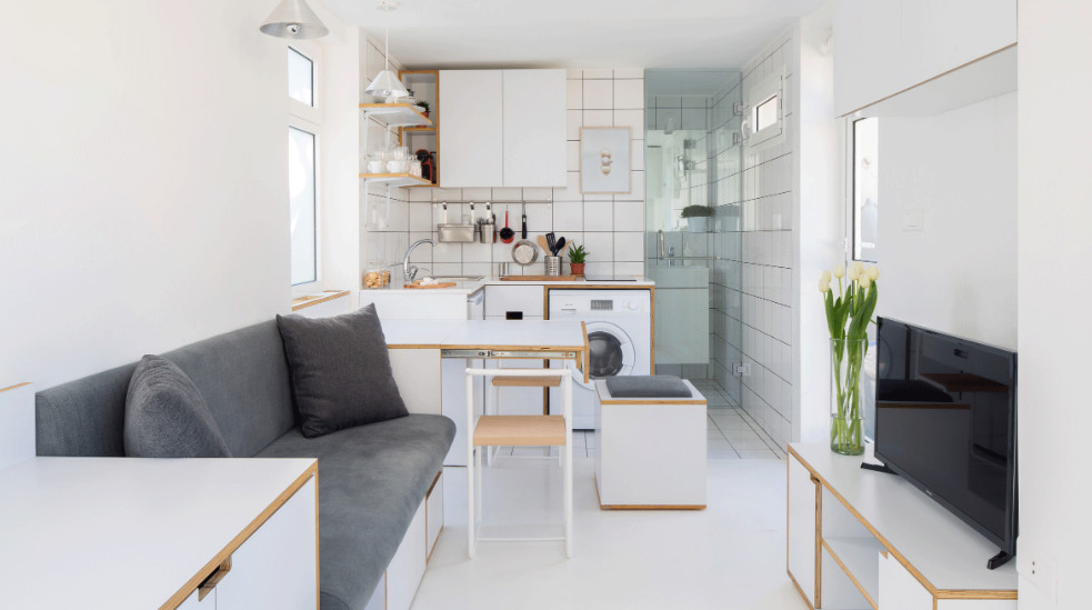 The Best Micro Apartments In The World Reveal Their Clever Interior Designscover image.